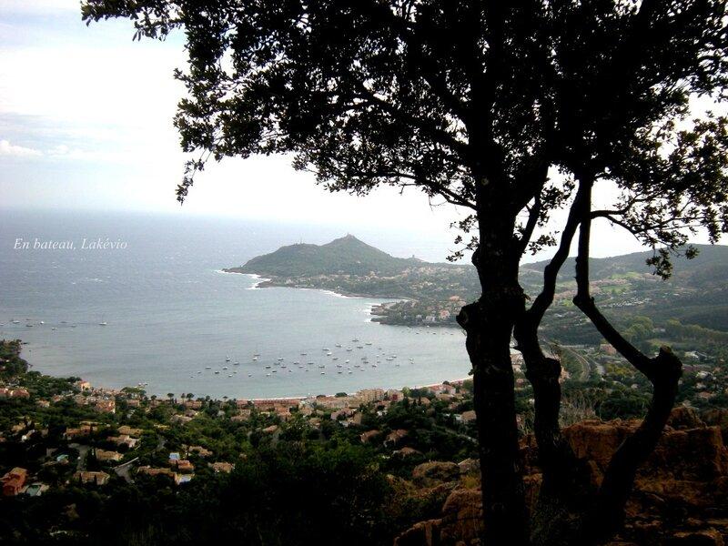 baie Agay depuis le Rastel