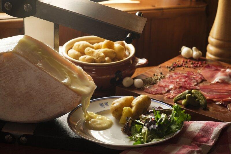 L'authentique Raclette de Savoie à l'IGP Raclette de Savoie ©JB Gautier