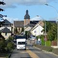 Le clocher (venant de l'Hermitage)