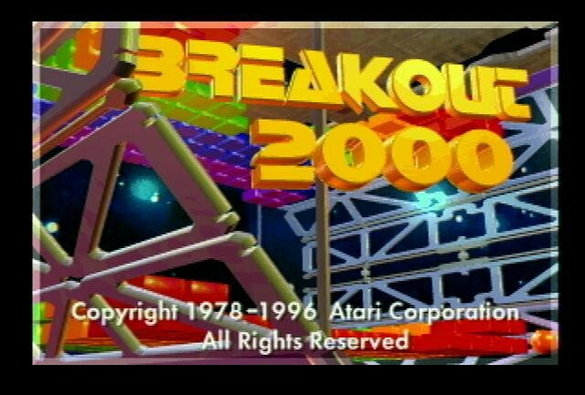 screen title Breakout2000