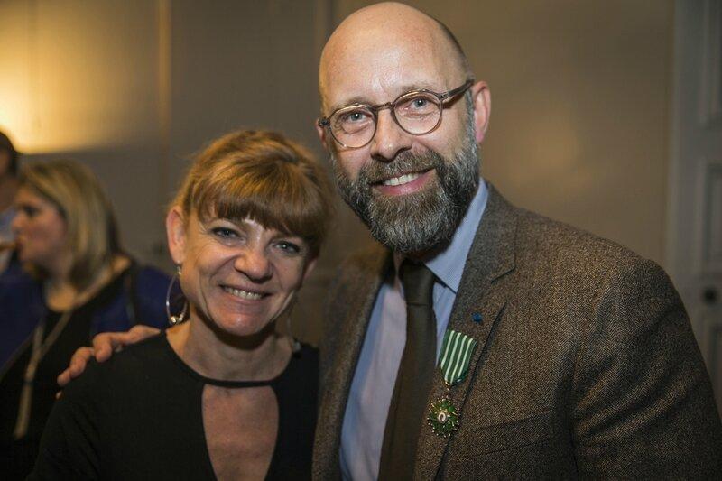 Arts et Lettres - Frédéric Fougerat avec Isabelle Fougeras, directrice communication Altran France