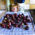 Crumble poires/figues épicé