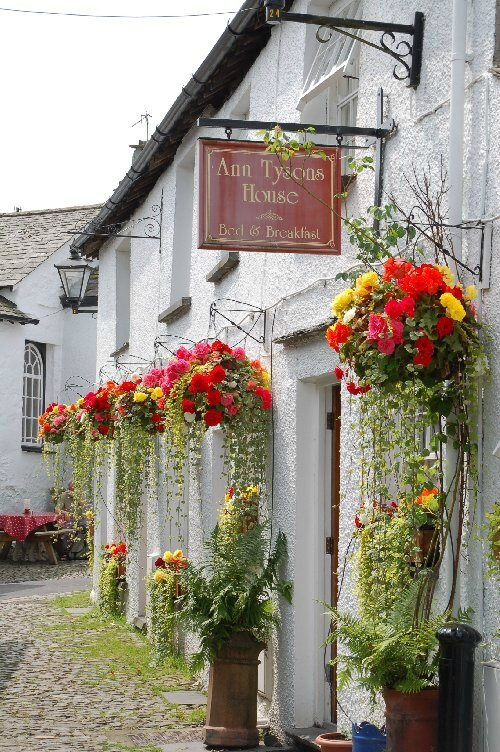 ANN TYSON'S HOUSE B &B DE TONY RICHARDS THE ENGLISH LAKE DISTRICT