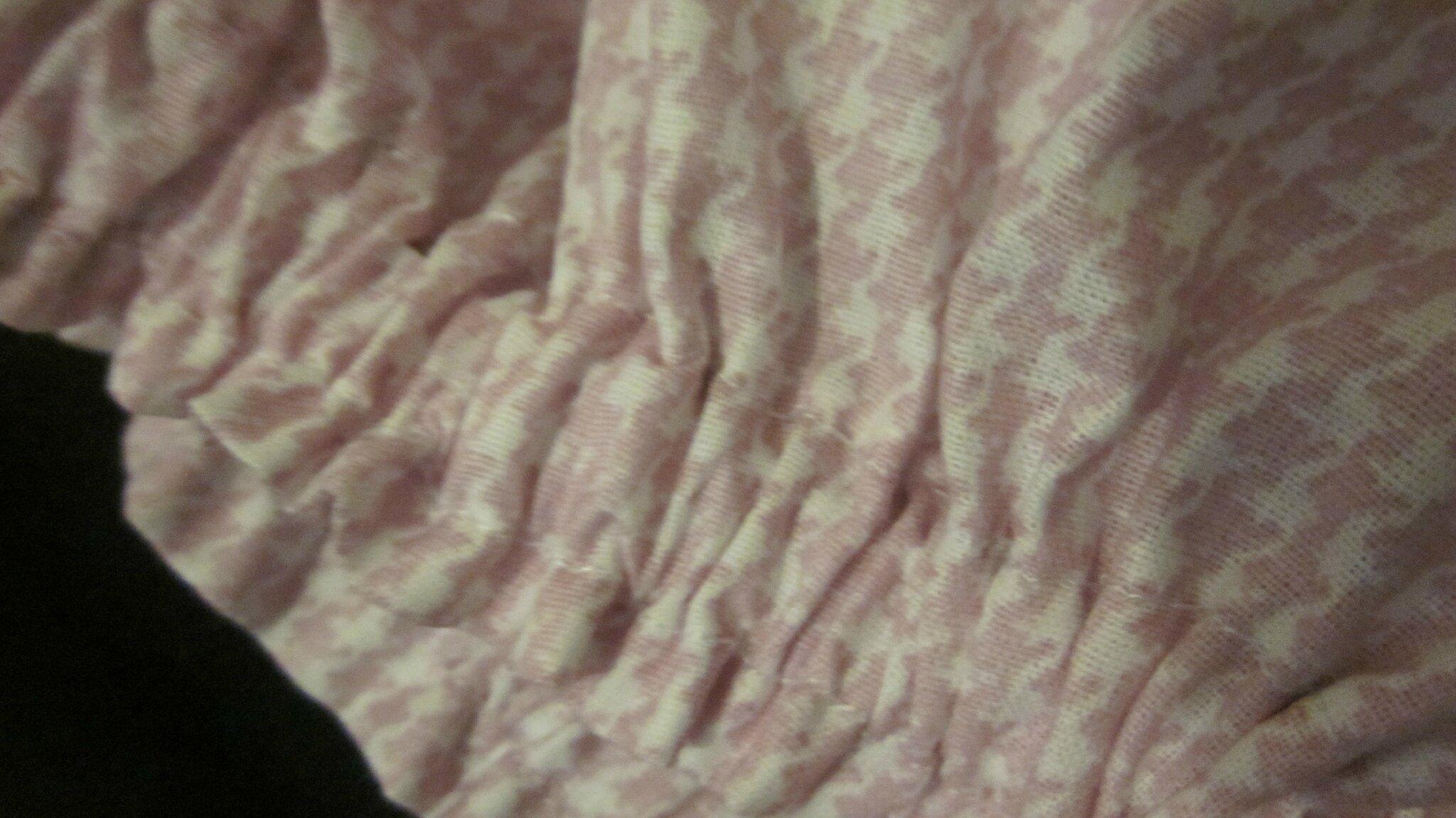 culotte pied de poule rose à noeud bicolore (4)