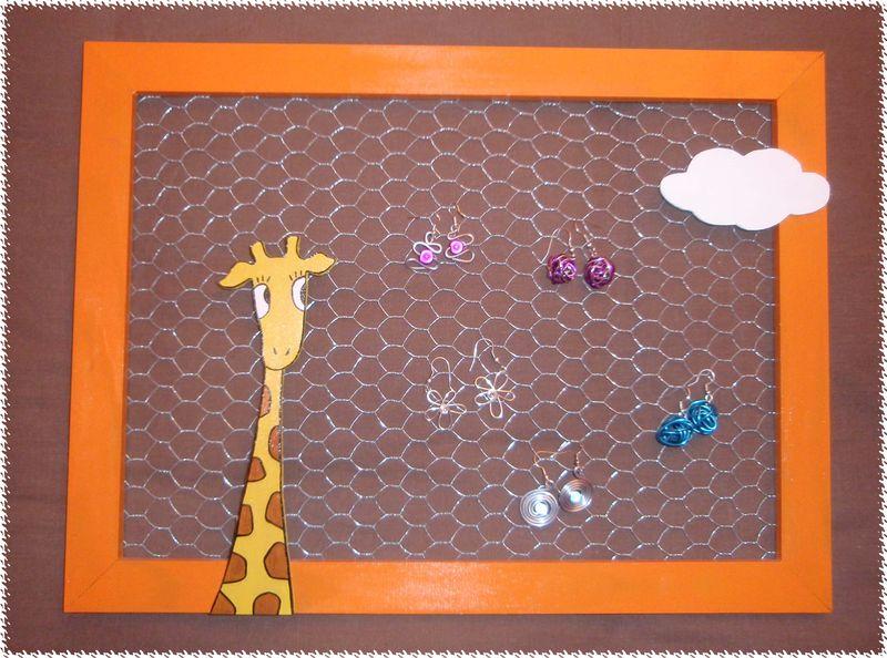 Porte BO girafe