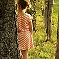 Des petites robes rayées...