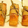Cakes salés aux olives et au jambon