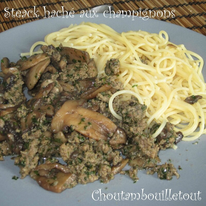 steack champignon