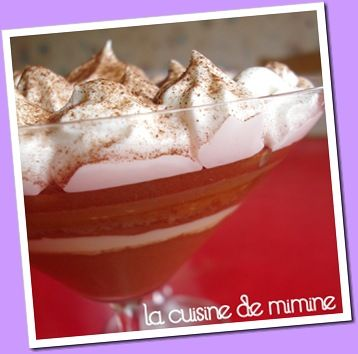 mousse chocolat et chantilly maison