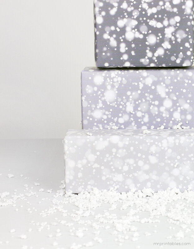 snow_printable_wrapping_papers