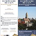 Caen, 30 novembre 2019: une belle conférence sur l'histoire d'une église disparue...