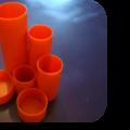 Porte stylos orange - 20,50 €