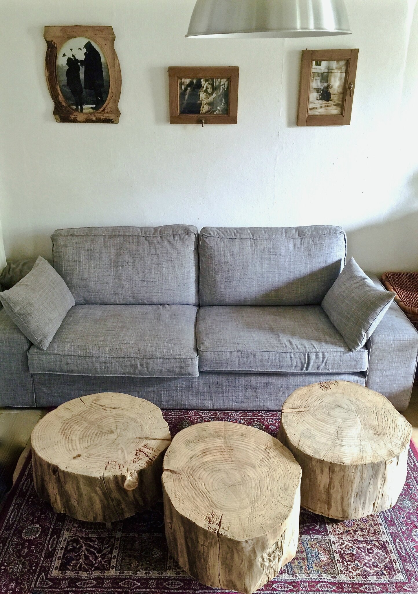 Tables Basses En Tronc D Arbre Creation Et Photo Le Meuble