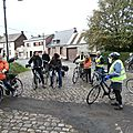Lerarenkaart fietstocht 2013 - Pâturages gare - PB035349
