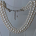 collier or gris perles