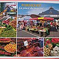 Pornichet - place du marché