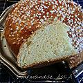 Mona, mouna lamouna ou brioche oranaise de pâques