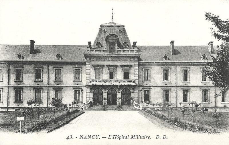 Nancy, hôpital militaire