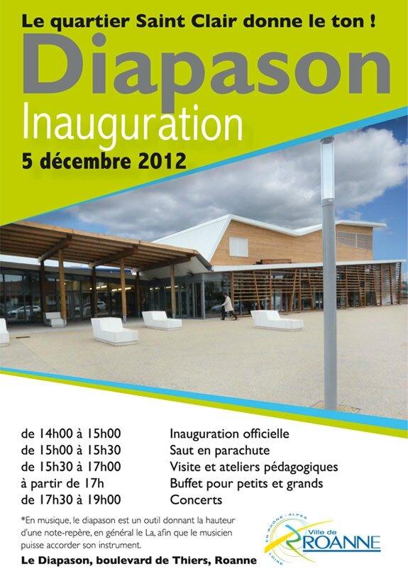Diapason - Inauguration - Visites guidées