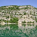 Excursion au lac d'esparron-du-verdon