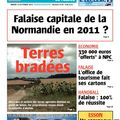 Falaise capitale de normandie en 2011 : une illusion ou une solution ?