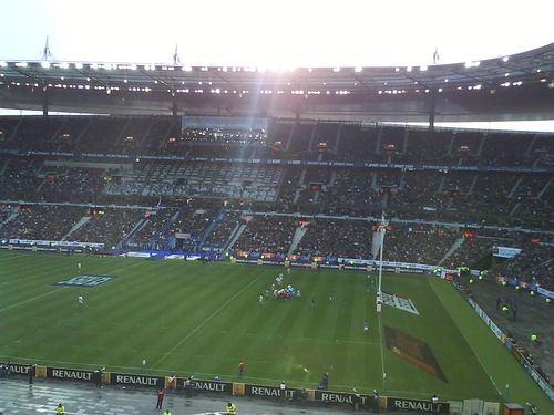Stade de France Match France Italie Tournoi des 6 nations