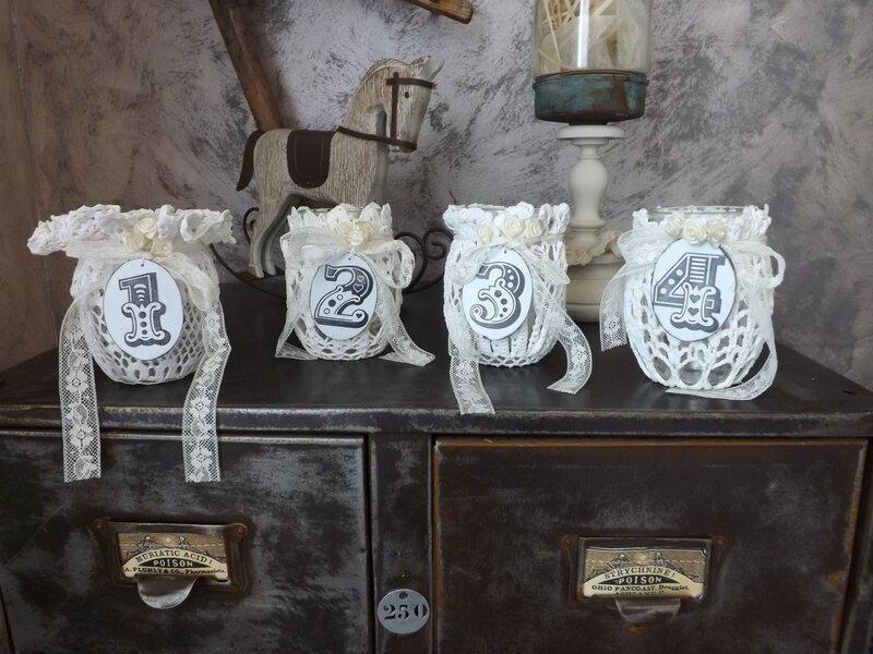 Bougies de l'avent (3)