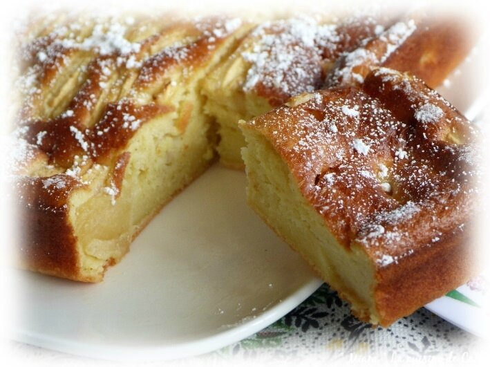 gâteau léger pommes4
