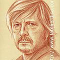 Reanud - portrait aux 3 crayons sur papier bis 24x30 cm