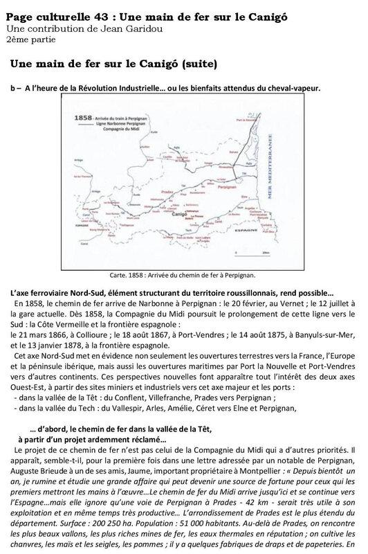Page culturelle 43 Une main de fer sur le Canigó-page-001