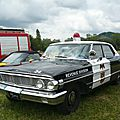 FORD Custom 500 4door Sedan Police Revenue Division 1964 Madine (1)