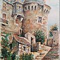 Domfront - Vieille tour des anciens remparts