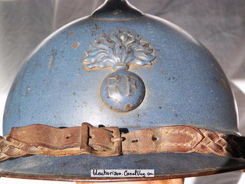 casque infanterie émaillé7log