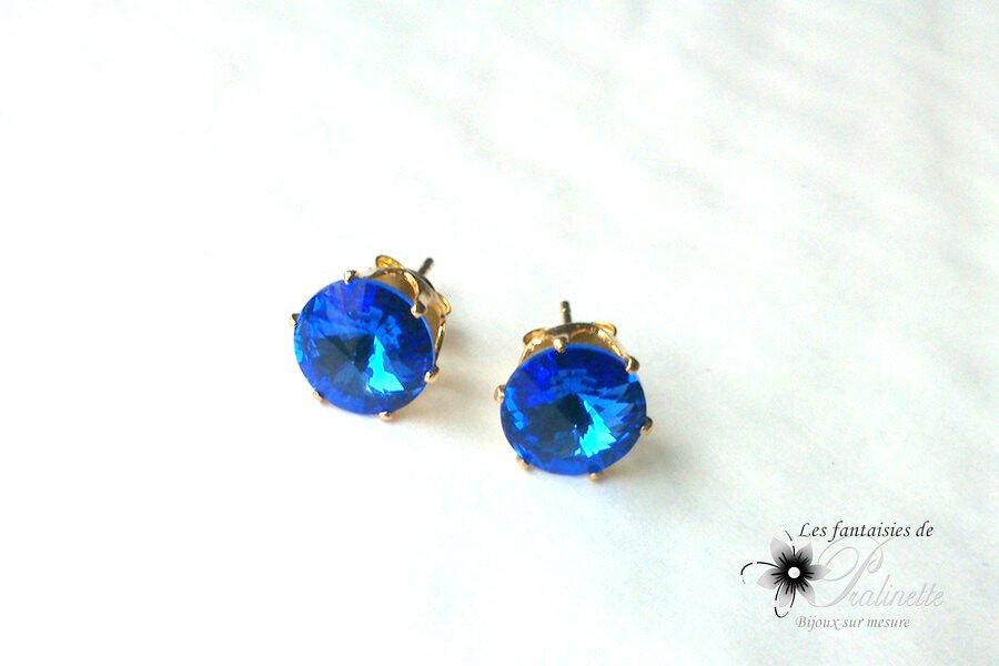 bijoux-mariage-soiree-clous-puces-d-oreilles-solitaire-strass-cristal-bleu-roi
