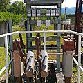 Buzy-en-Béarn (Pyrénées-Atlantiques - 64) poste d'aiguillage