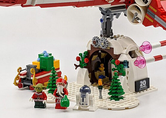 lego christmas support