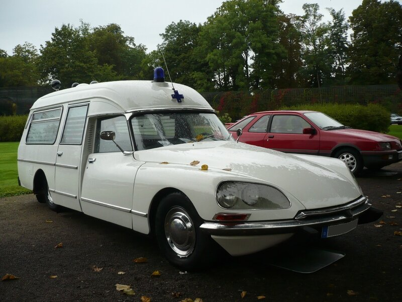 CITROËN DS 23 break ambulance carrossé par Currus 1973 Schwetzingen (1)