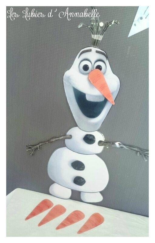 Décoration Anniversaire Reine des neiges Olaf