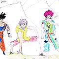 Trio de héros ... par justin & gabriel