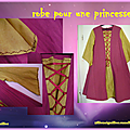 Une robe de princesse