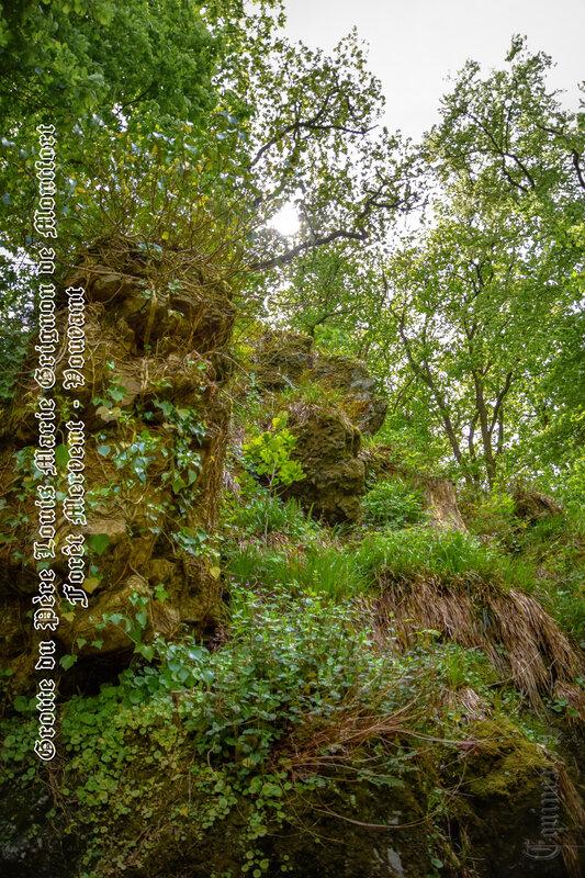 Grotte du Père Montfort lieu de pèlerinage Vendée (3)