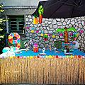 Son anniversaire sous le thème de vaïana ... décos, gâteaux, tenue tout pour une fête réussie !