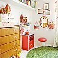 Une chambre d'enfant aux airs vintage,découverte