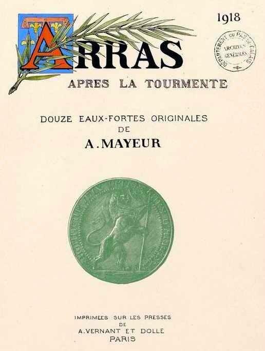 EEaux fortes d'Arthur Mayer