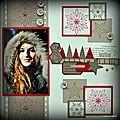 Cathy-page c'est l'hiver-collection modern christmas