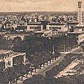 Le boulevard Gouraud et les bâtiments administratifs (1920)