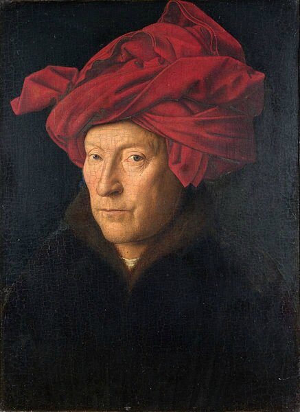 437px-Portrait_of_a_Man_by_Jan_van_Eyck-small