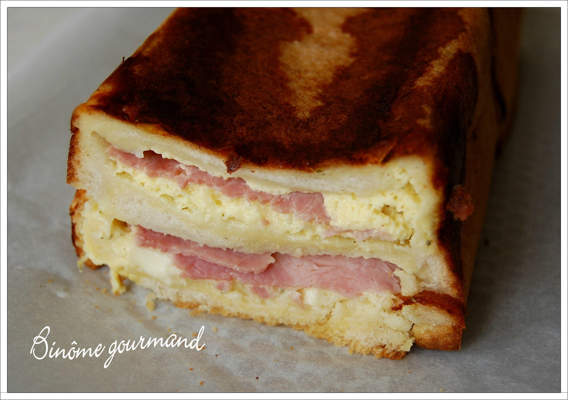 Recette Cake Pain De Mie Jambon Oeuf Fromage