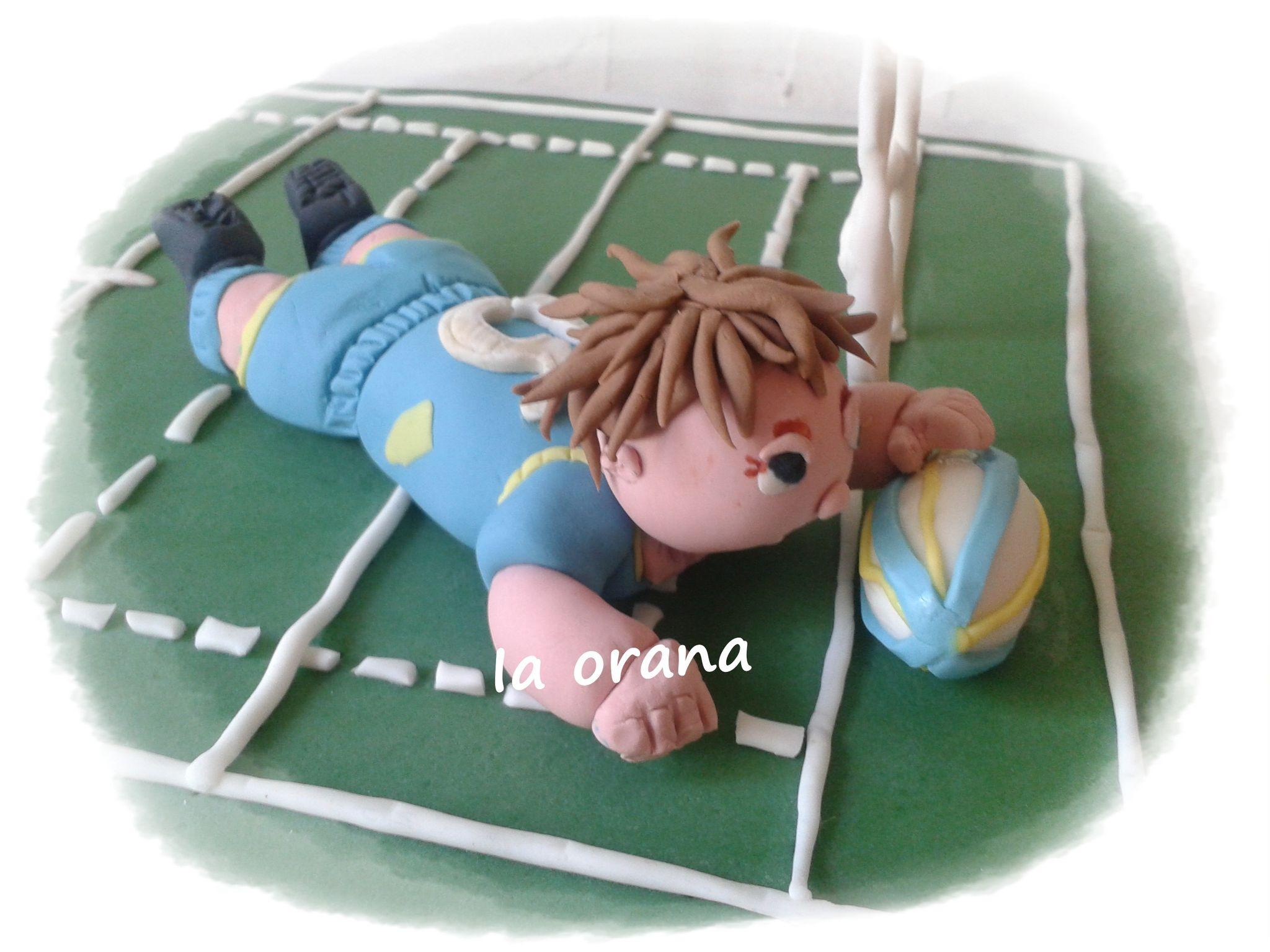 Modelage Rugbyman