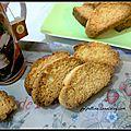 Biscuits typiques des pouilles : biscotti della salute pugliesi